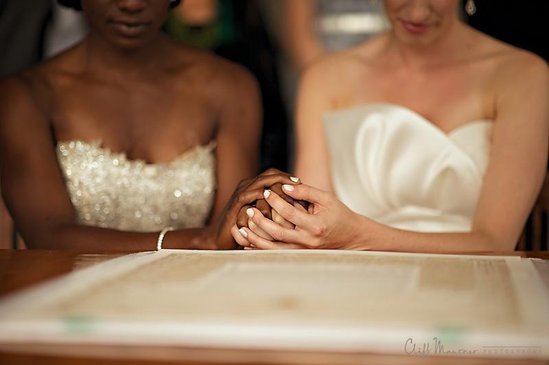 Onteora Mountain House Same Sex Wedding