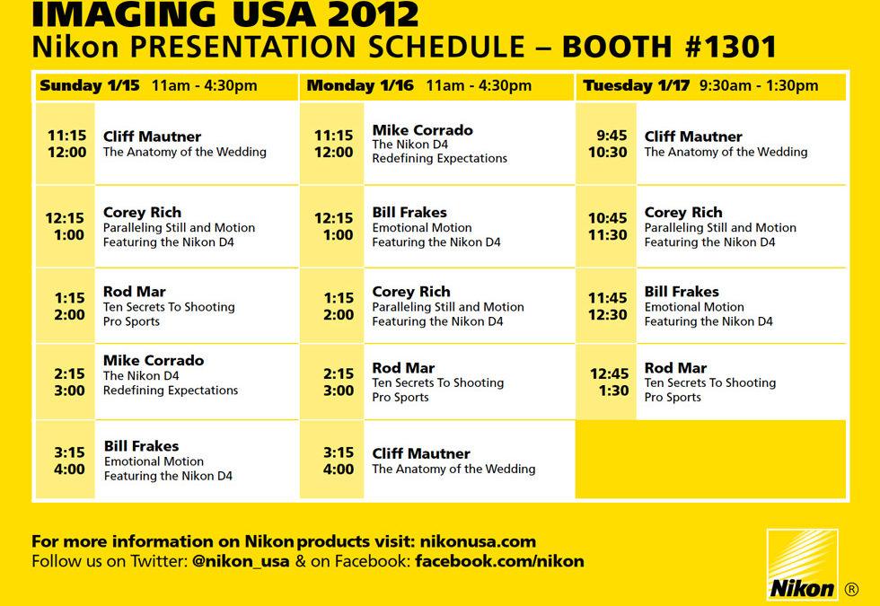 Nikon Presentation at Imaging USA