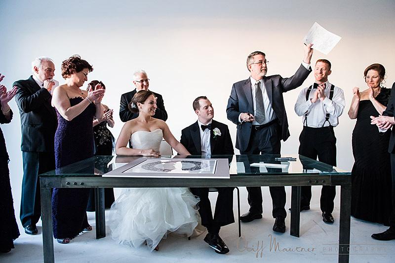 New York City Wedding on Tribecca Rooftop